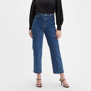 Levi's Premium Ribcage Straight Ankle Jeans